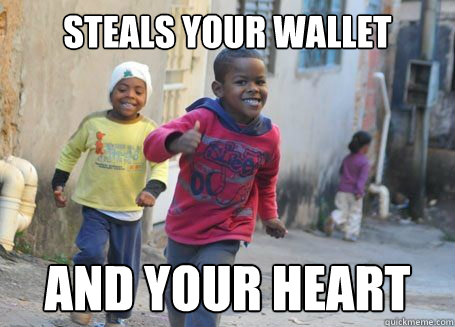 Steals your wallet And your heart