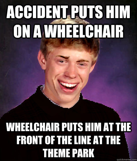Accident Puts Him On A Wheelchair Wheelchair Puts Him At