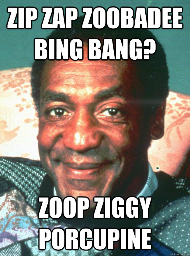Zip Zap Zoobadee bing bang? Zoop Ziggy Porcupine
