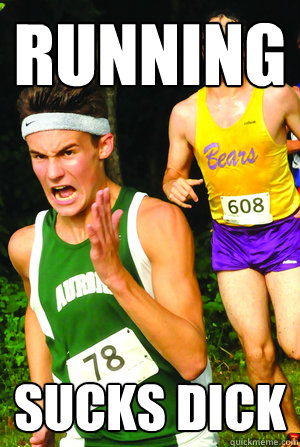 running sucks dick - running sucks dick  Intense Cross Country Kid