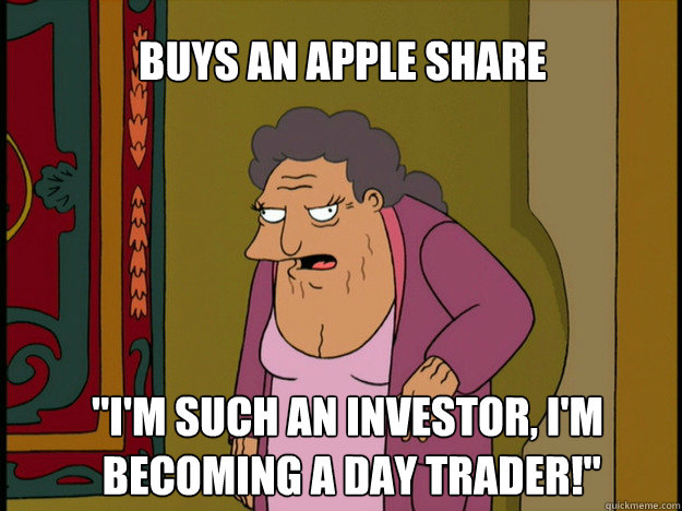 Buys an Apple Share