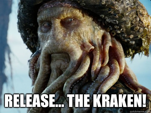 Image result for Release the kraken