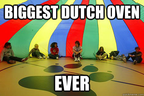 Biggest Dutch Oven Ever