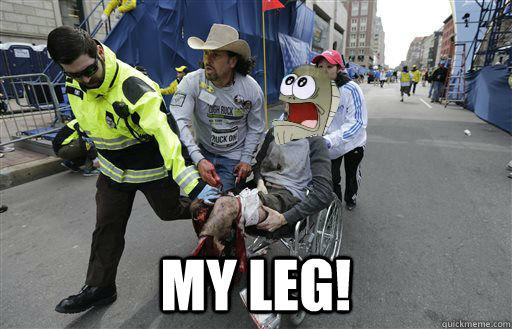 My Leg! -  My Leg!  My Leg