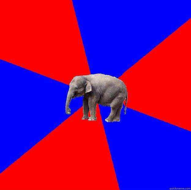 Foreign language elephant