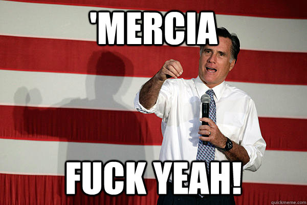 'MERCIA FUCK YEAH! - 'MERCIA FUCK YEAH!  douche bag romney