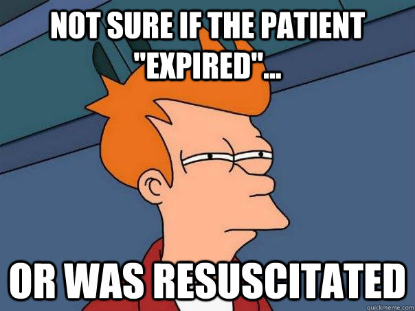 Not sure if the patient