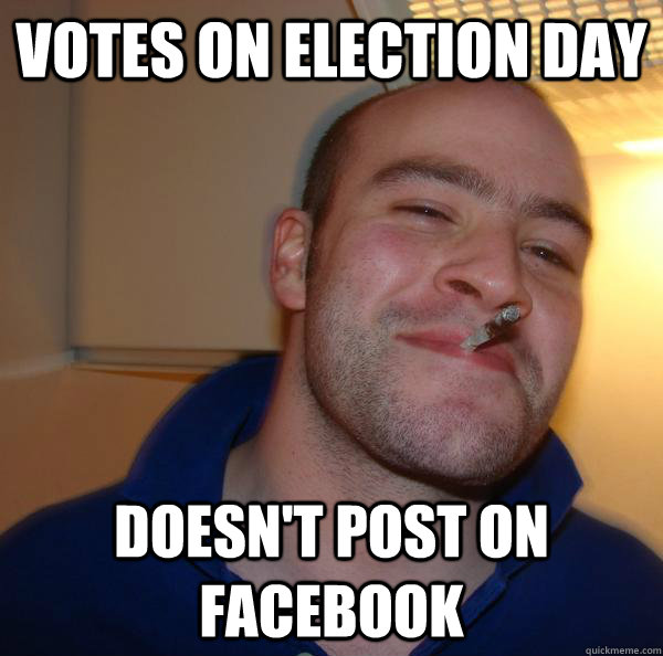 Votes on election day doesn't post on facebook - Votes on election day doesn't post on facebook  Misc