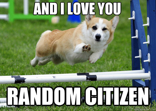 and i love you random citizen - and i love you random citizen  Misc