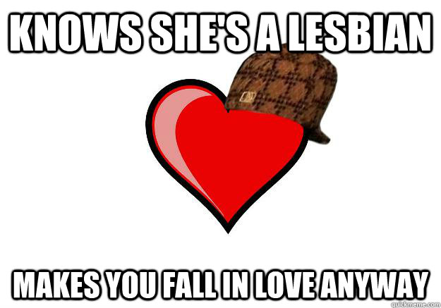 Fall in love with a lesbian