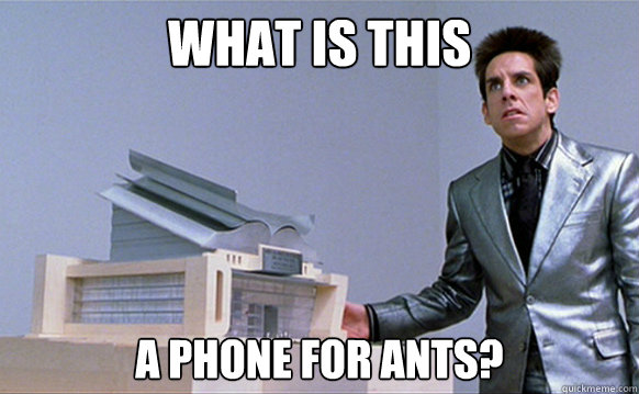 What is this A phone for ants? - What is this A phone for ants?  Planetside Zoolander