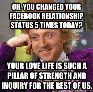history by year facebook relationship status