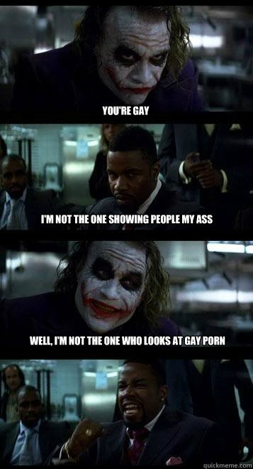 Joker gay porn