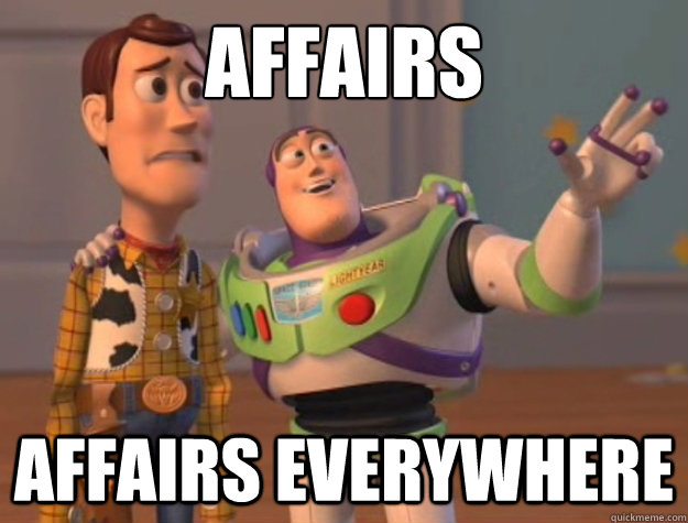 Affairs Affairs everywhere - Affairs Affairs everywhere  Buzz Lightyear