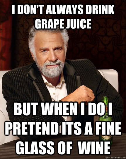 Image result for sparkling grape juice funny