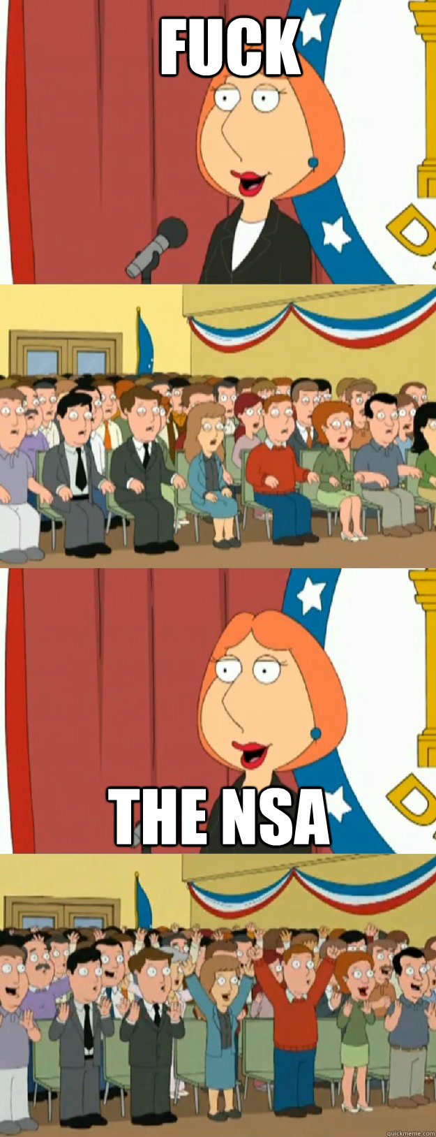 Fuck THE NSA - Fuck THE NSA  Lois Griffin