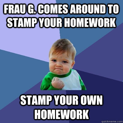 Do your own homework