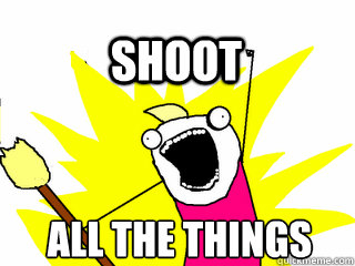 ALL THE THINGS Shoot - ALL THE THINGS Shoot  All The Thigns