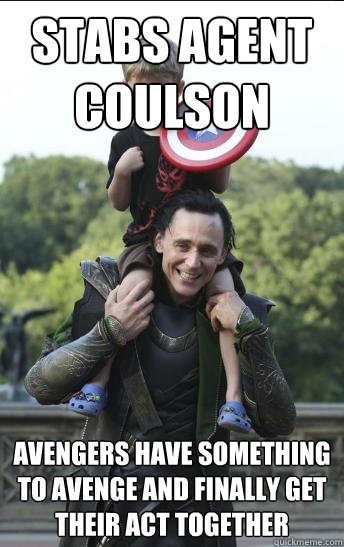stabs agent coulson avengers have something to avenge and finally get their act together