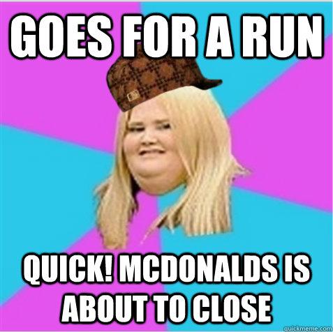 Fat Girl Running Meme