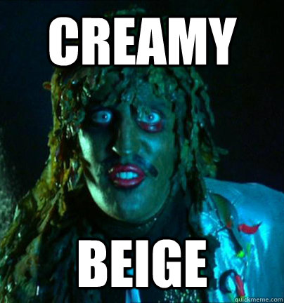 creamy beige - creamy beige  old gregg!