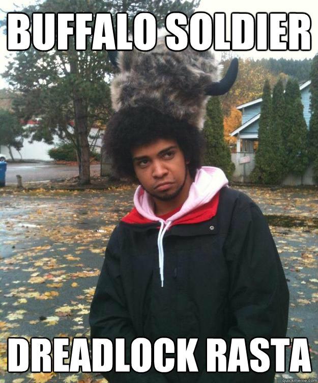 Buffalo Soldier dreadlock rasta - Buffalo Soldier dreadlock rasta  buffalo soldier