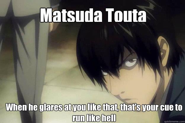 Matsudas Glare Memes Quickmeme