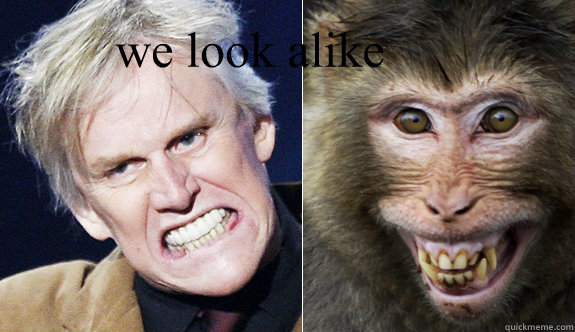 we look alike    we look alike