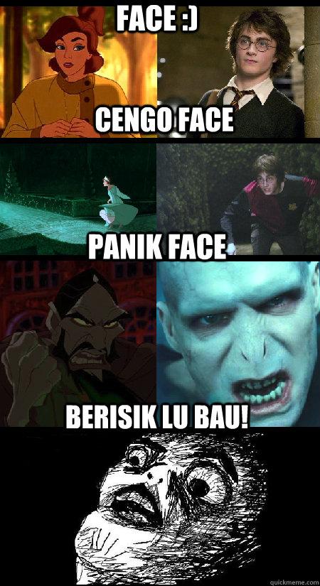Panik face Berisik lu bau! Cengo Face Face :)  Anastasia and Harry Potter - Coincidence