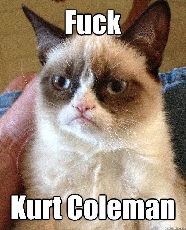 Fuck Kurt Coleman