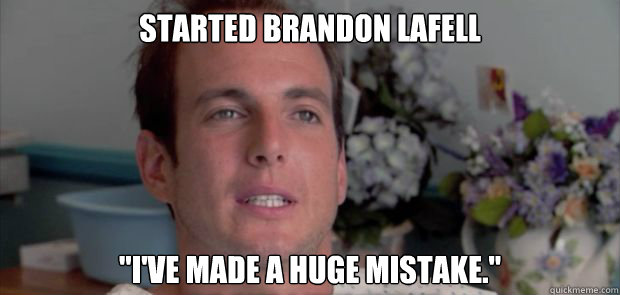 Started brandon Lafell