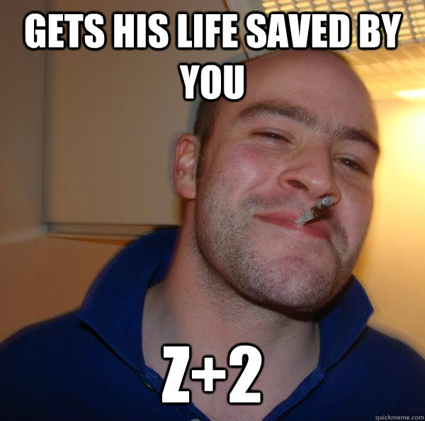 Gets his life saved by you Z+2 - Gets his life saved by you Z+2  Misc