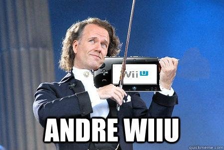 ANDRE WIIU - ANDRE WIIU  ANDRE WIIU