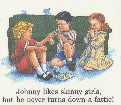 Johnny likes skinny girls...  -   Misc
