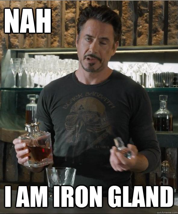 nah i am iron gland - nah i am iron gland  Misc