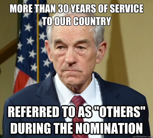 More than 30 years of service to our country Referred to as
