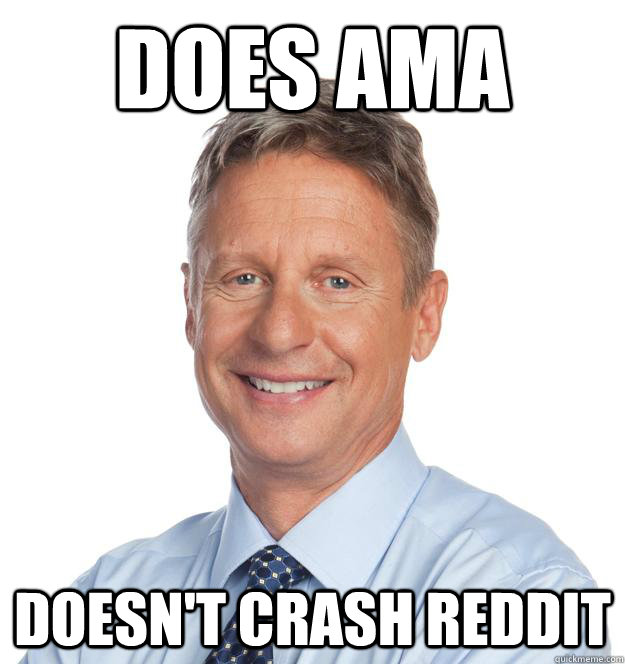 does ama doesn't crash reddit - does ama doesn't crash reddit  Misc