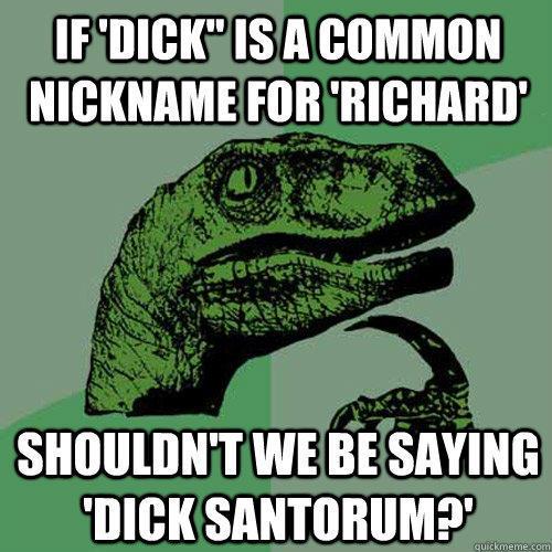 If 'Dick