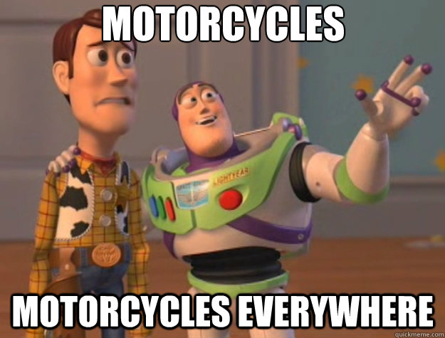Motorcycles Motorcycles Everywhere - Motorcycles Motorcycles Everywhere  Toy Story