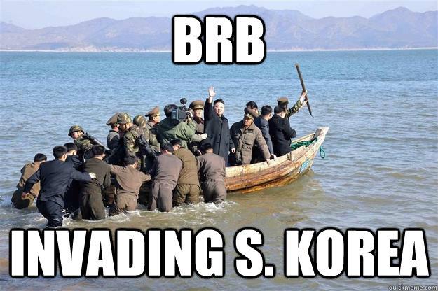 BRB invading s. korea