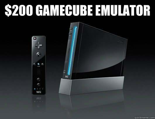 $200 GameCube emulator  - $200 GameCube emulator   Misc