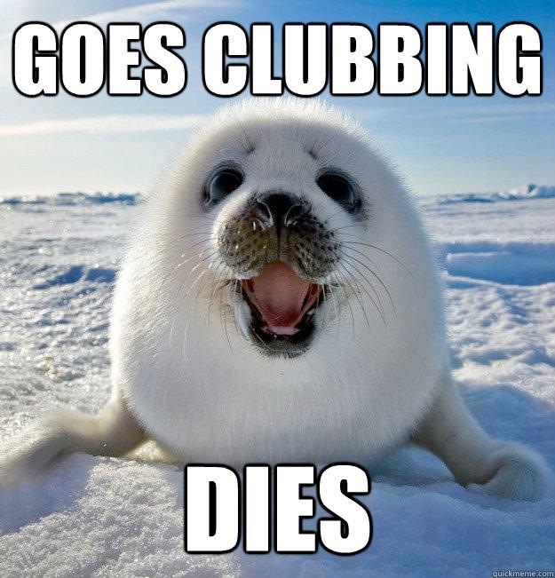 Goes Clubbing DIES