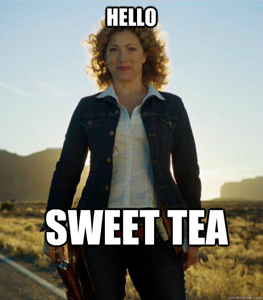 Hello Sweet Tea - Hello Sweet Tea  River Song