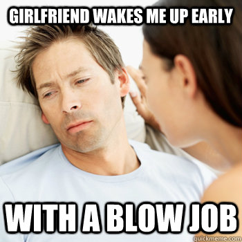 waking up to a blowjob The Blow Job, a leverage fanfic | FanFiction.