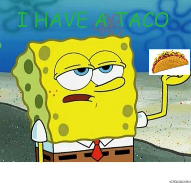 Sponge Bob Eating Doritos Colroing In: Related Keywords & Suggestions For Spongebob Taco