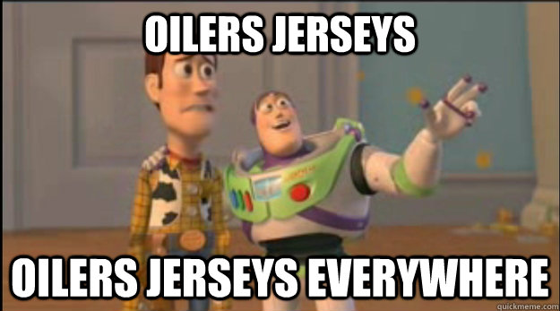 Oilers Jerseys Oilers Jerseys Everywhere - Oilers Jerseys Oilers Jerseys Everywhere  Misc