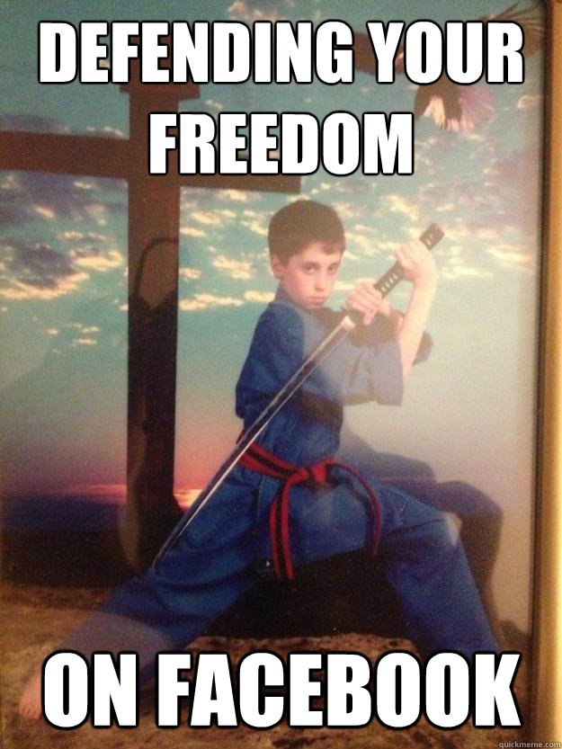 Defending Your Freedom On Facebook