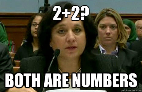 2+2? both are numbers
