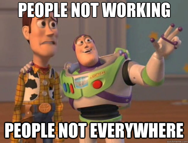 people not working people not everywhere - people not working people not everywhere  Toy Story