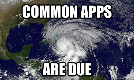 Common apps  are due - Common apps  are due  Hurricane Sandy